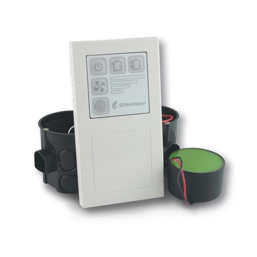 MoveAir Control Decentrale WTW warmteterugwinning besturingen
